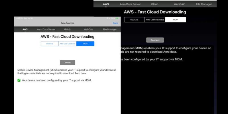 Aero MDM Support on iOS
