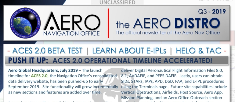 Q3 – 2019 Aero Distro Newsletter