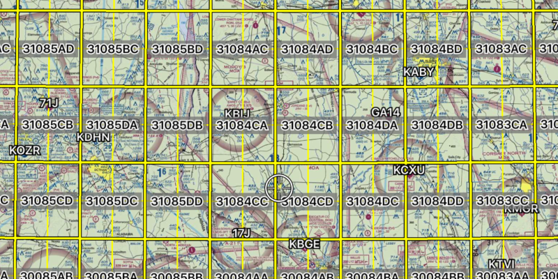 Search and Rescue Grids and Patterns
